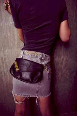 Etsy.com Ariel Marie Custom Black Alligator Fanny Pack With By MarionMax.