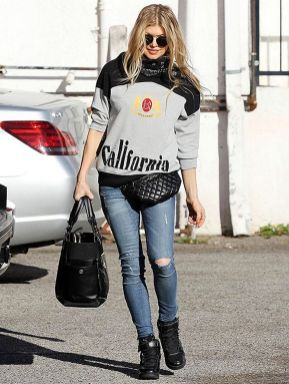 Fergie Resurrects The Fanny Pack—Again!