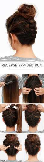 Hairstyles diy and tutorial for all hair lengths 008   fashion