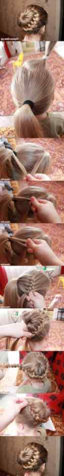 Hairstyles diy and tutorial for all hair lengths 009 | fashion