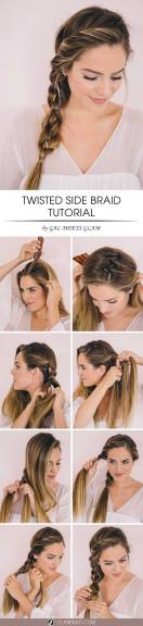 Hairstyles diy and tutorial for all hair lengths 014 | fashion
