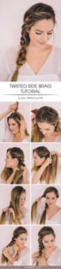 Hairstyles diy and tutorial for all hair lengths 014   fashion