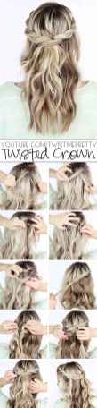 Hairstyles diy and tutorial for all hair lengths 016   fashion