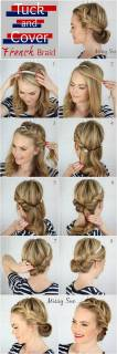 Hairstyles diy and tutorial for all hair lengths 022   fashion