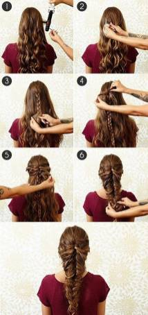 Hairstyles diy and tutorial for all hair lengths 025 | fashion