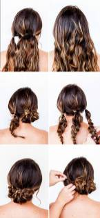 Hairstyles diy and tutorial for all hair lengths 029 | fashion