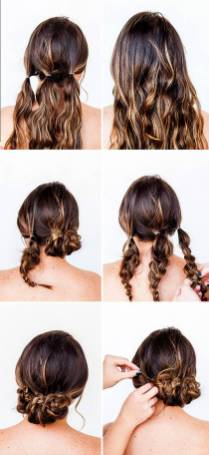 Hairstyles diy and tutorial for all hair lengths 029   fashion