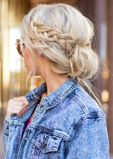 Hairstyles diy and tutorial for all hair lengths 049   fashion