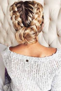 Hairstyles diy and tutorial for all hair lengths 051 | fashion