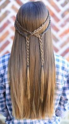 Hairstyles diy and tutorial for all hair lengths 063   fashion