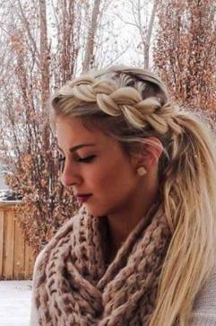 Hairstyles diy and tutorial for all hair lengths 086   fashion