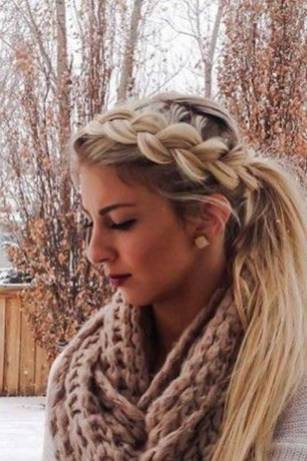 Hairstyles diy and tutorial for all hair lengths 086 | fashion