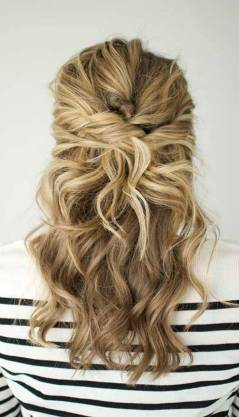 Hairstyles diy and tutorial for all hair lengths 095 | fashion