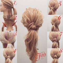 Hairstyles diy and tutorial for all hair lengths 116 | fashion