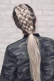 Hairstyles diy and tutorial for all hair lengths 122 | fashion
