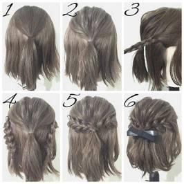 Hairstyles diy and tutorial for all hair lengths 143   fashion