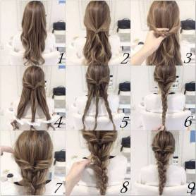 Hairstyles diy and tutorial for all hair lengths 171 | fashion