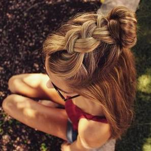 Hairstyles diy and tutorial for all hair lengths 173 | fashion