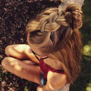 Hairstyles diy and tutorial for all hair lengths 173   fashion