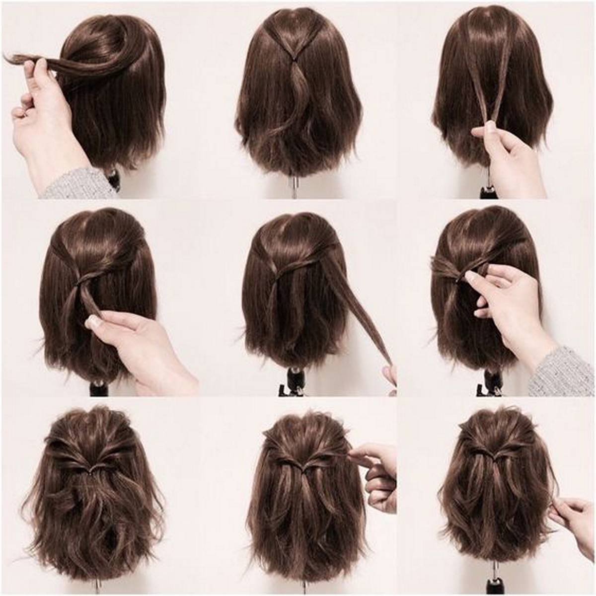 Hairstyles diy and tutorial for all hair lengths 192 | fashion