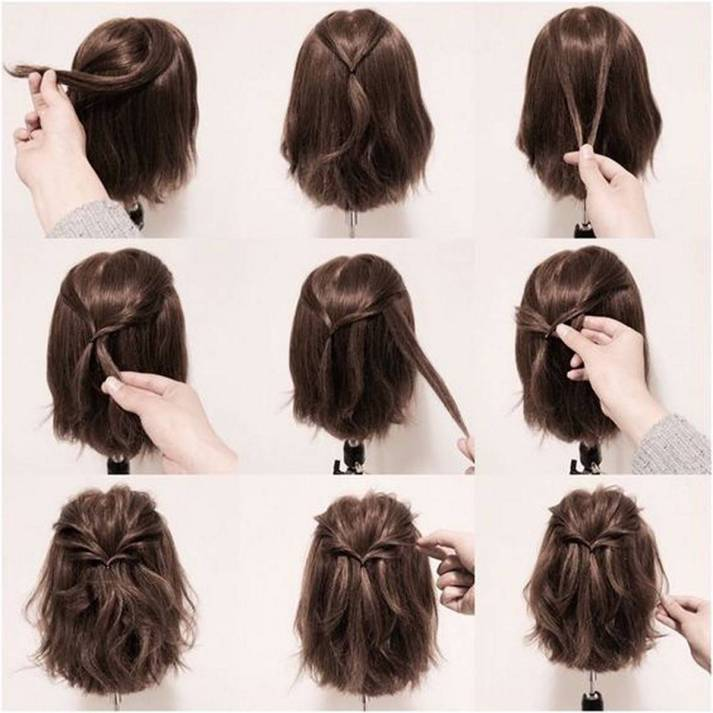 Hairstyles diy and tutorial for all hair lengths 192   fashion
