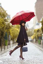 Rainy day cold weather outfit (11)