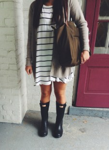 Rainy day cold weather outfit (33)