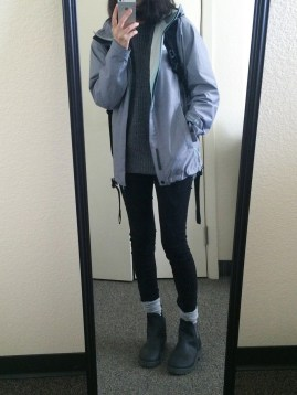 Rainy day cold weather outfit (50)