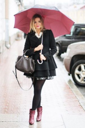 Rainy day cold weather outfit (7)