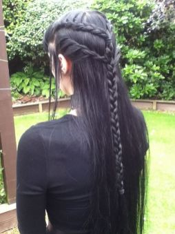 Stunning hairstyles for warm black hair ideas (05)