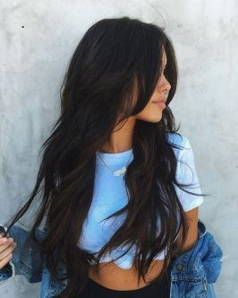 Stunning hairstyles for warm black hair ideas (06)