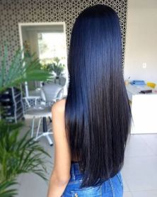 Stunning hairstyles for warm black hair ideas (32)