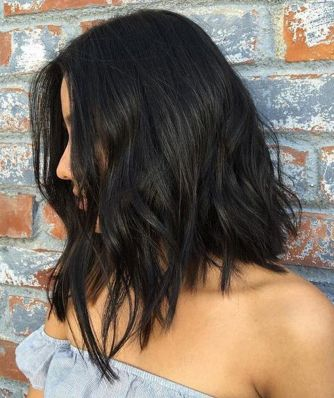Stunning hairstyles for warm black hair ideas (37)