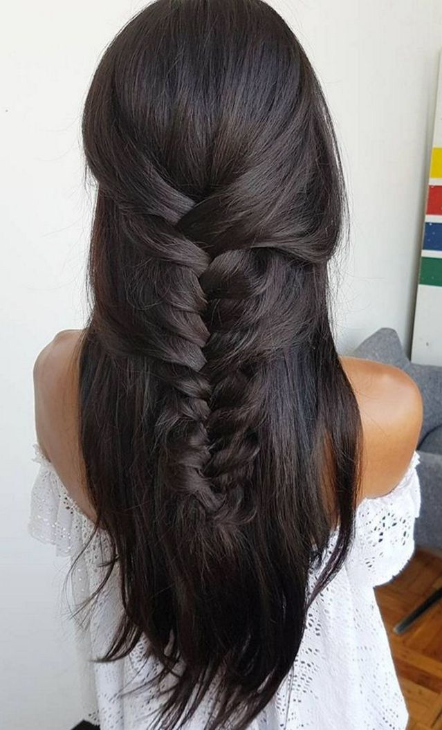 Stunning hairstyles for warm black hair ideas (39)