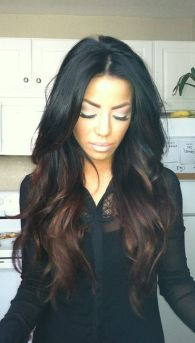 Stunning hairstyles for warm black hair ideas (49)