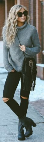 Sweaters outfit idea you should try this year (005)   fashion
