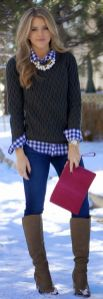 Sweaters outfit idea you should try this year (006) | fashion