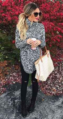 Sweaters outfit idea you should try this year (013) | fashion