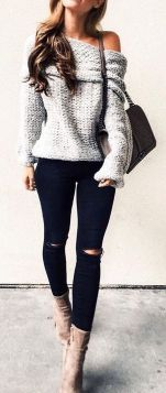 Sweaters outfit idea you should try this year (014)   fashion