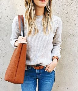 Sweaters outfit idea you should try this year (017) | fashion