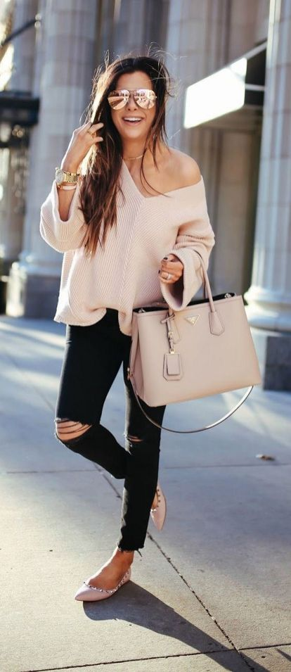 Sweaters outfit idea you should try this year (018)   fashion