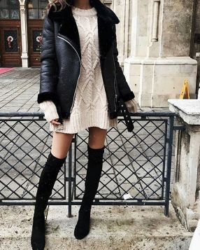 Sweaters outfit idea you should try this year (020)   fashion
