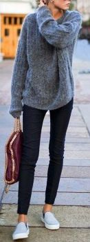 Sweaters outfit idea you should try this year (025) | fashion