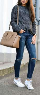 Sweaters outfit idea you should try this year (029) | fashion