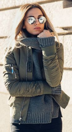 Sweaters outfit idea you should try this year (035) | fashion