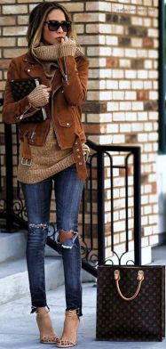 Sweaters outfit idea you should try this year (036)   fashion