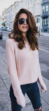 Sweaters outfit idea you should try this year (040) | fashion