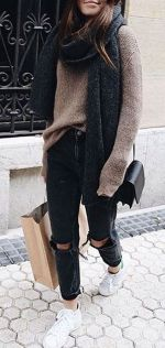 Sweaters outfit idea you should try this year (047)   fashion