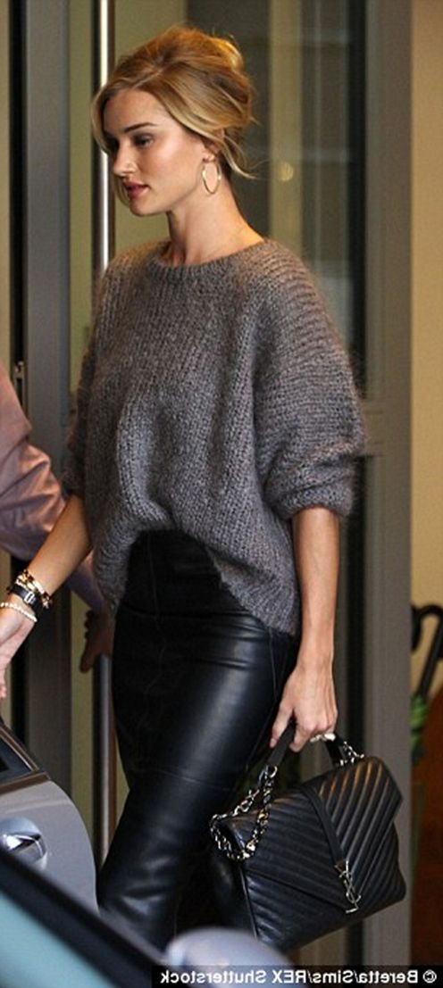 Sweaters outfit idea you should try this year (063)   fashion