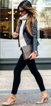 Sweaters outfit idea you should try this year (064)   fashion